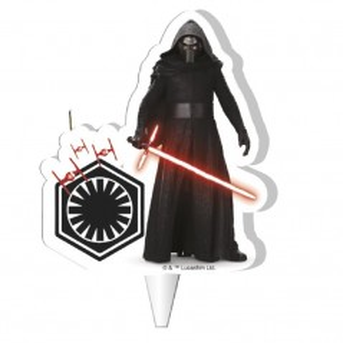 Dekora  Tortová sviečka - Star Wars - svetelný meč - 1ks