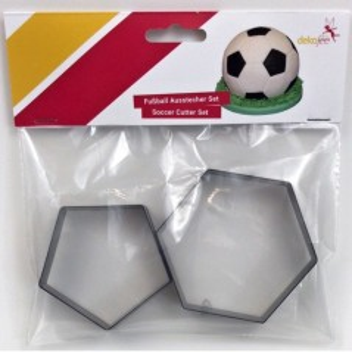 Dekofee  vykrajovátka - fotbal - 2ks