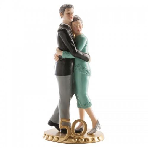 Svadobné figúrky - 50. výročie - zlatá svadba