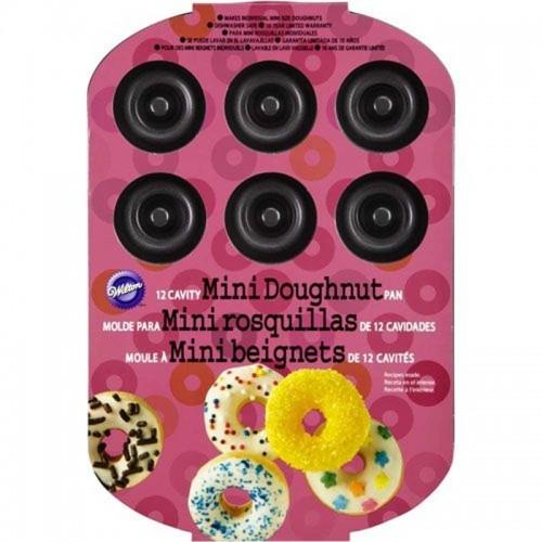 Wilton forma na pečení - Donut - mini 12