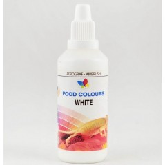 Airbrush Lebensmittelfarbe Food Colours Weiß (60ml)