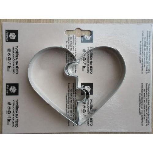 Sada formičiek - valentínske srdce