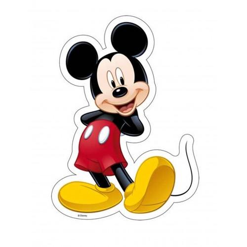 Jedlý papír Silueta - Mickey Mouse 25cm / 1ks