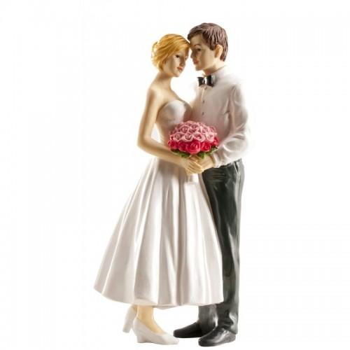 Svatební figurky - květina