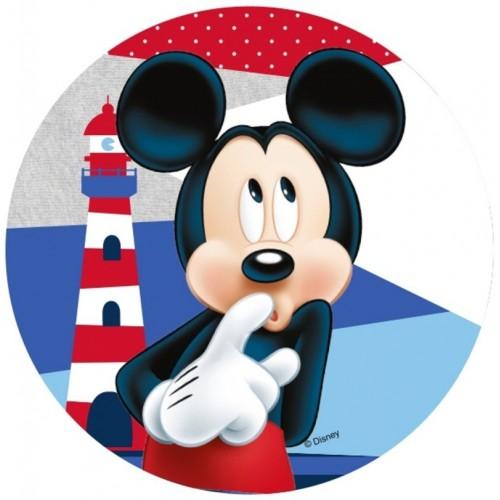 Jedlý papír kulatý - Mickey Mouse - maják