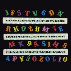 FMM Carnival Alphabet & Numbers Set Tappits