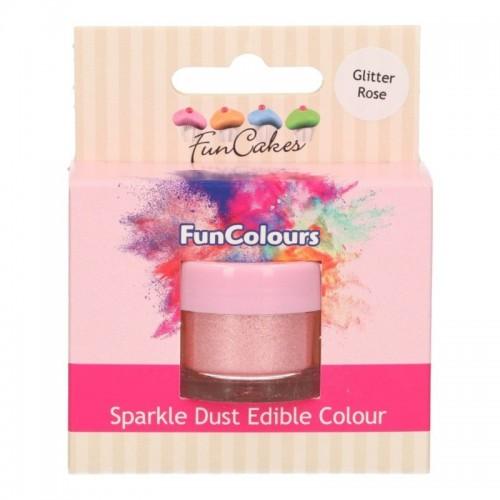 FunColours Puderfarbe Sparkle Dust - Glitter rose - 3,5g
