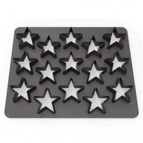 Dekofee  Polycutter - stars - hvězda