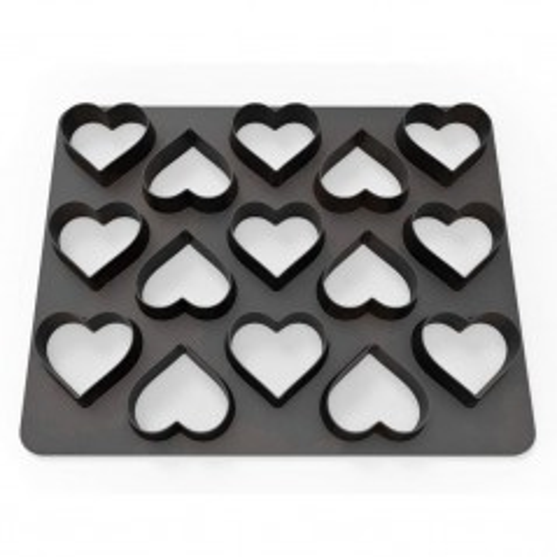 Dekofee  Polycutter - hearts - srdce