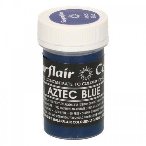 Sugarflair gélová farba - Aztec Blue - 25g