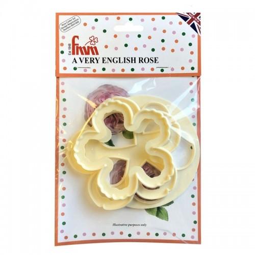 FMM vykrajovačky - anglická ruža - 3ks