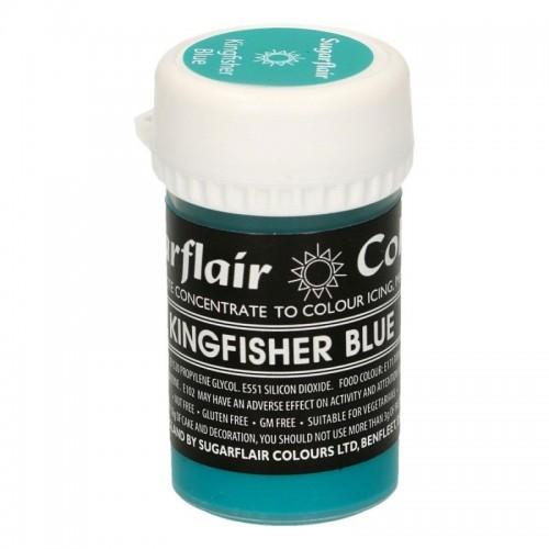 Sugarflair gelová pastelová farba - Kingfisher Blue - 25g