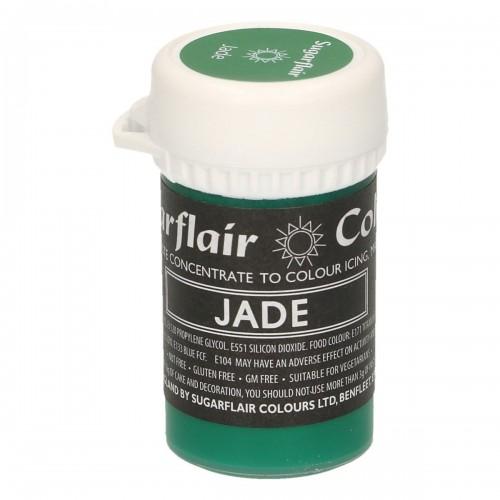 Sugarflair pastelová gelová barva - Jade - 25g