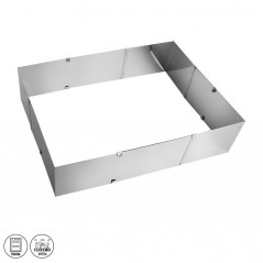 Variable baking form - rectangle