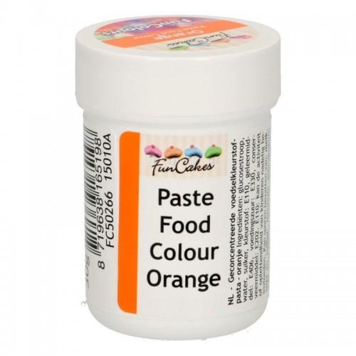 FunColours orange - gelová barva - oranžová - kalíšek -30g
