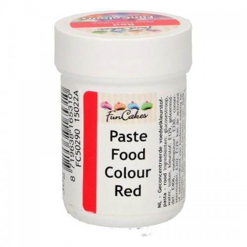 FunColours red - gelová barva - červená  - kalíšek -30g