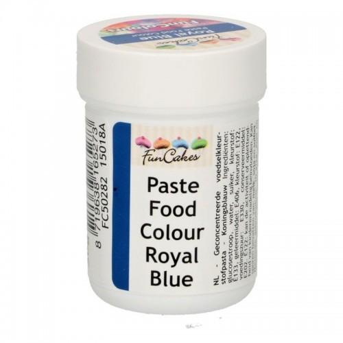 FunColours paste food colour -  royal blue  - cup 30g
