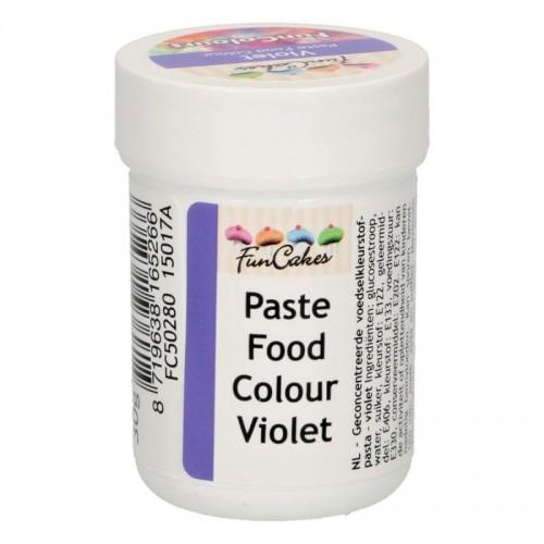 FunColours violet - gelová barva - fialová  - kalíšek -30g