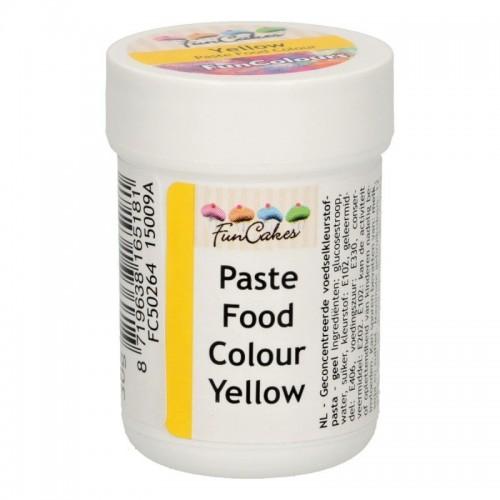 FunColours yellow - gelová barva - žlutá - kalíšek -30g