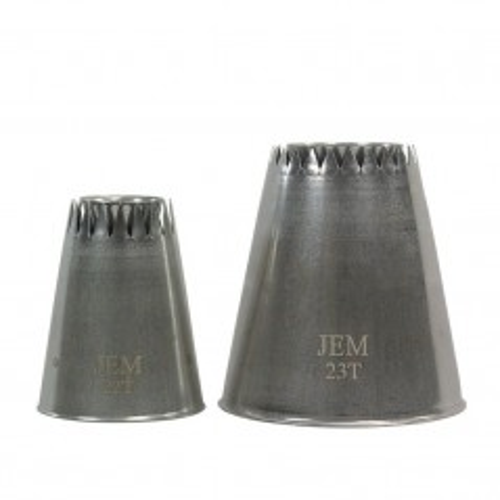 JEM - piping Spritztüllen für Sultane Style Meringues nr.22T + 23T