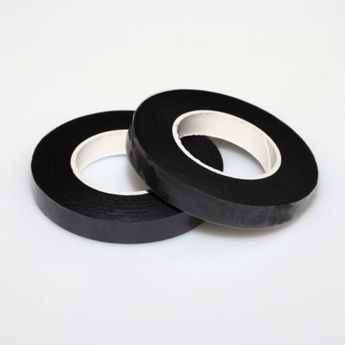 Aranžovacia ovinovacia páska - čierna 12mm
