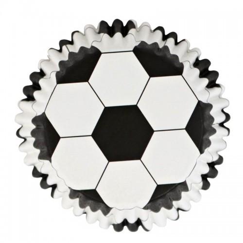 PME cukrárske košíčky s fóliou - Futbal - 30ks