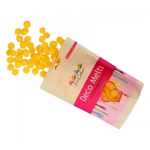FunCakes deco melts gelb  - 250g