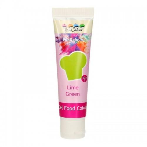 FunColours edible funcolours gel - Lime Green   30g