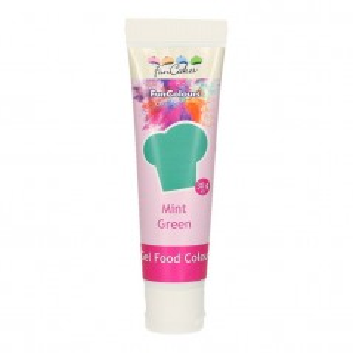 FunColours edible funcolours gel - MINT GREEN - 30g