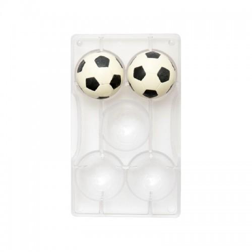 Decora - Forma na pralinky - fotbalový míč 5,2cm