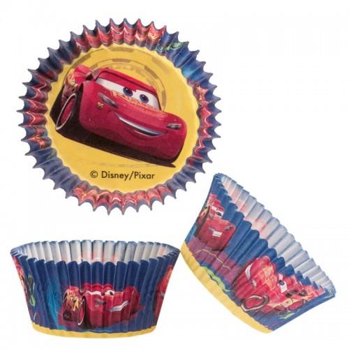 Dekora cukrárske košíčky -  Cars - 50ks