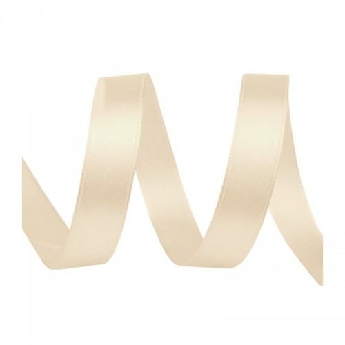 Satin Ribbon - ivory 20m / 5mm