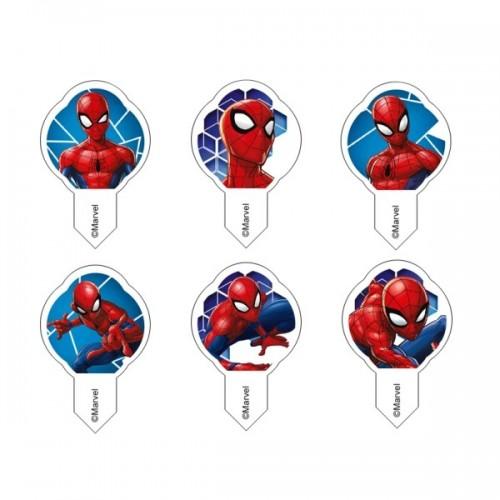 Jedlý papír MIX WF Spiderman mini - 10ks