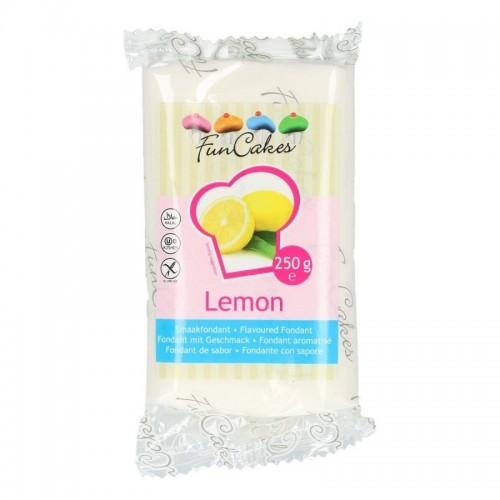 FunCakes ochucený potahový fondán - speciál - Lemon 250g