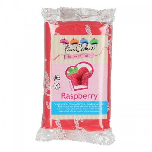 FunCakes ochucený potahový fondán - speciál - Raspberry   250g