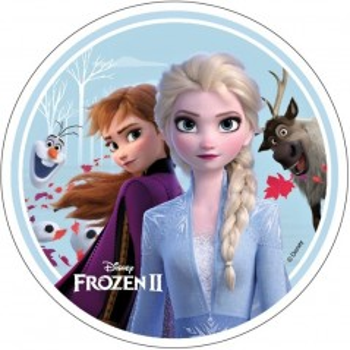 Disney jedlý papier Frozen II. - motiv 1.