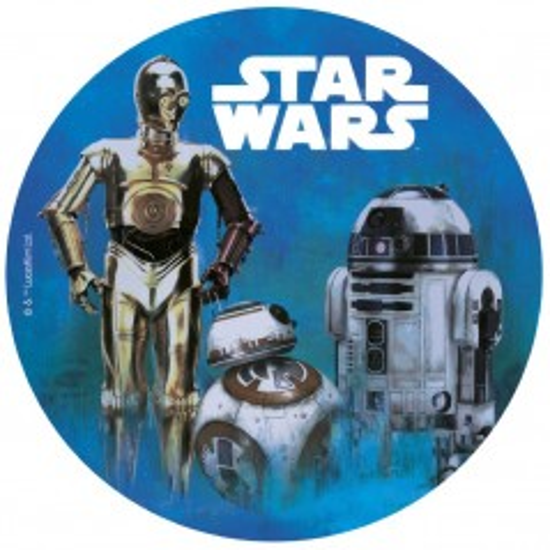 Dekora - Jedlý papír kulatý - Star Wars