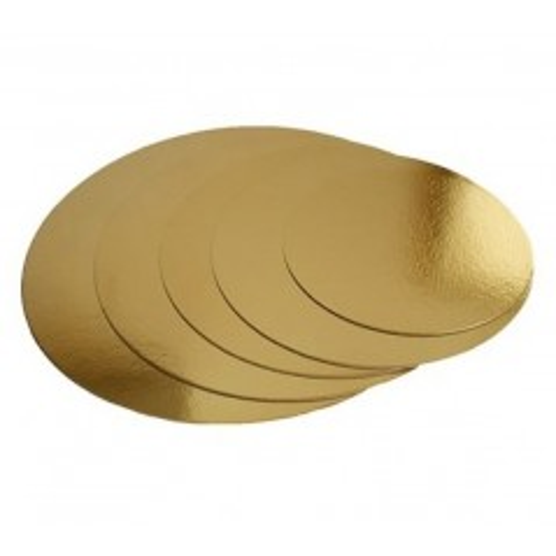 Kulatá podložka pod dort zlatá 40cm