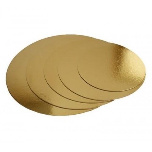 Tortenplatten in gold  round 40cm