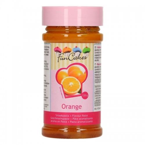 FunCakes Flavouring  - Flavour paste - Orange - 120g