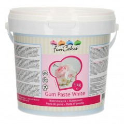 FunCakes Gum Paste - Blütenpaste Weiß -1kg
