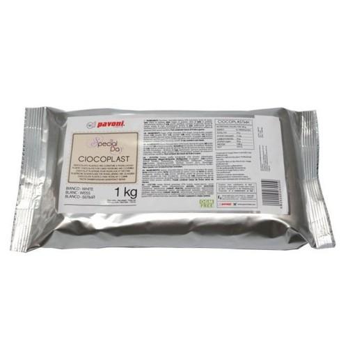 Pavoni - Ciocoplast - modelovacia čokoláda bílá 1kg
