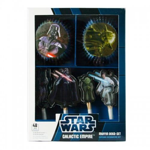 DecoCino - cukrárske košíčky - súprava - Star Wars 24 + 24ks