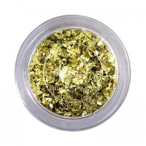 Sugarcity dekoratívne trblietky Yellow Gold Glitter 10ml