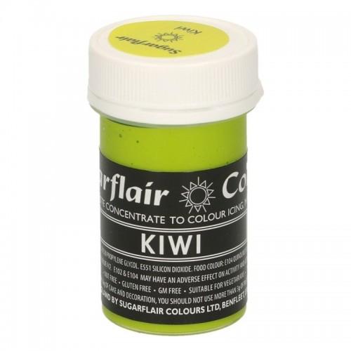 Sugarflair paste colour - Kiwi 25g