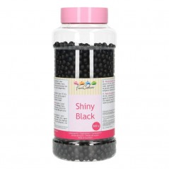 FunCakes sugarpearls 7mm - shiny black - 800g