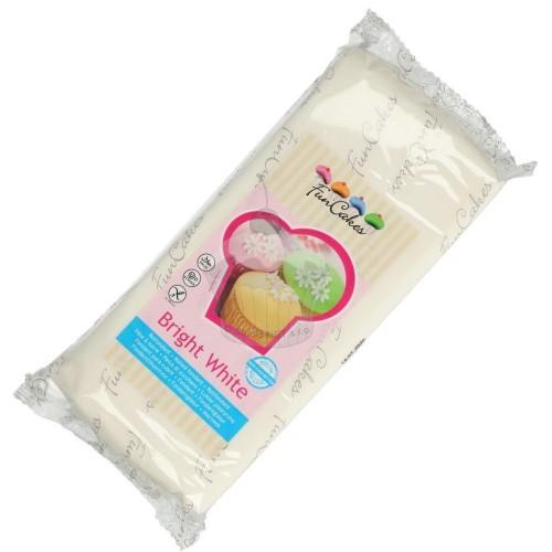 FunCakes Fondant Bright White -1 kg-