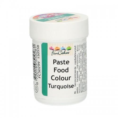 FunColours turquoise - gelová barva - tyrkysová - kalíšek -30g