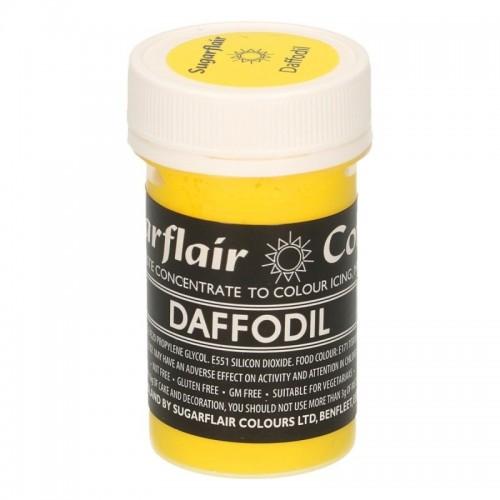 Sugarflair paste colour - gelová barva - Daffodil 25g