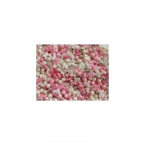 Zuckerdekoration - Einhörner / Perlen / Sterne 50g